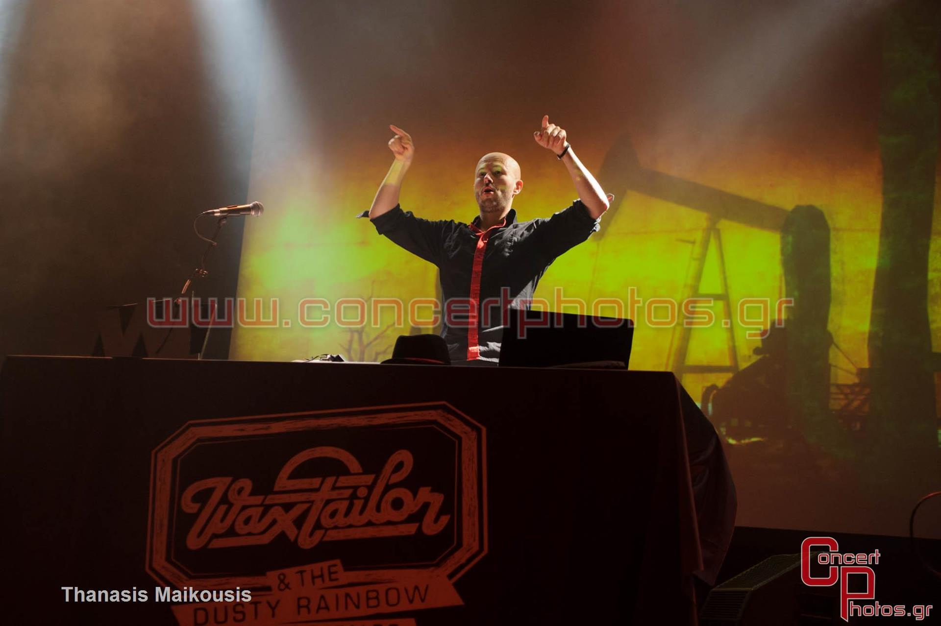 Wax Tailor - photographer: Thanasis Maikousis - ConcertPhotos-7879