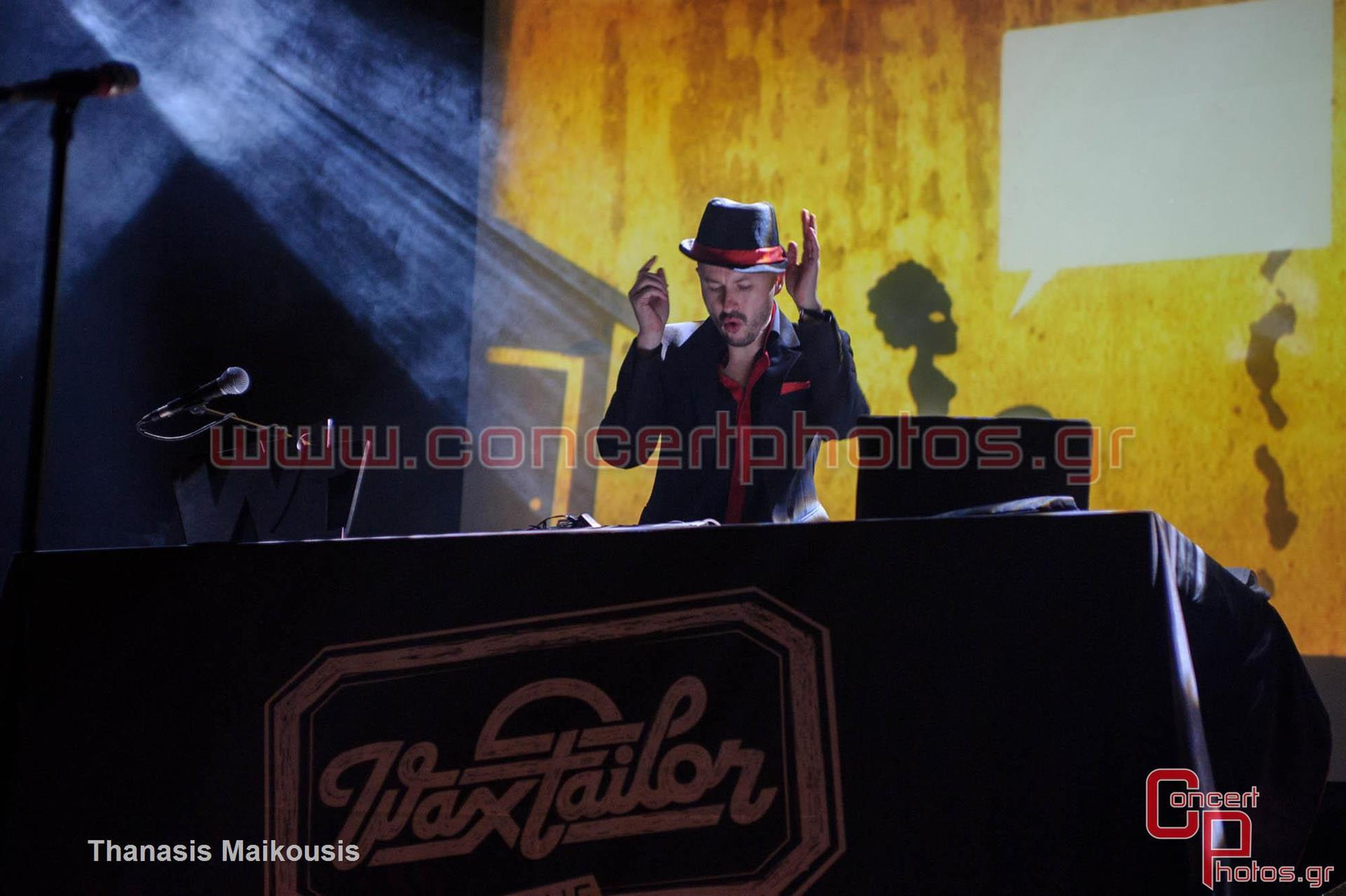 Wax Tailor - photographer: Thanasis Maikousis - ConcertPhotos-7605