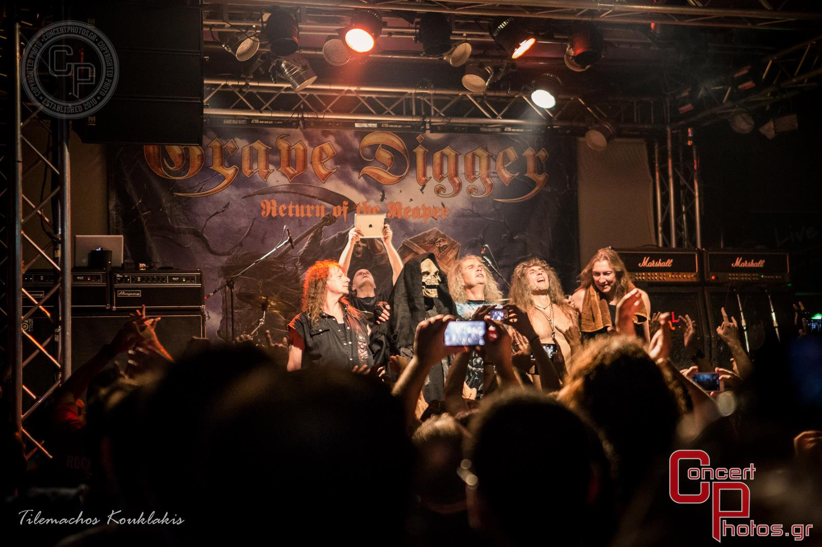 Grave Digger & Silent Rage -Grave Digger Silent Rage Kyttaro photographer:  - ConcertPhotos - 20140919_2352_14